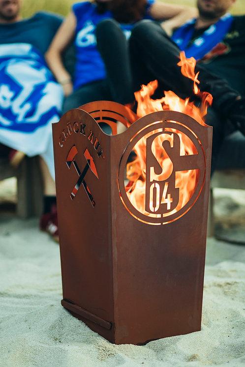 Schalke 04 Feuerkorb