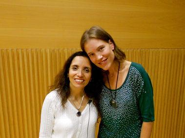 Inelia Benz & Hira Hosen, 2012 Barcelona