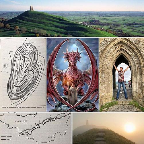 Glastonbury - Avalon Priestess - Hira Hosen - Sacred Women Journey - Mary Magdalene