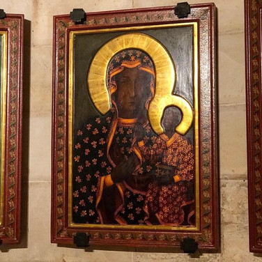 Black Madonna - Jerusalem - New Earth - Spiritual Journeys in Israel - Hira Hosèn
