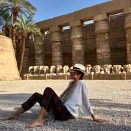 New Earth Cruise - Karnak Temple - Spiritual Journeys in Egypt - Hira Hosèn