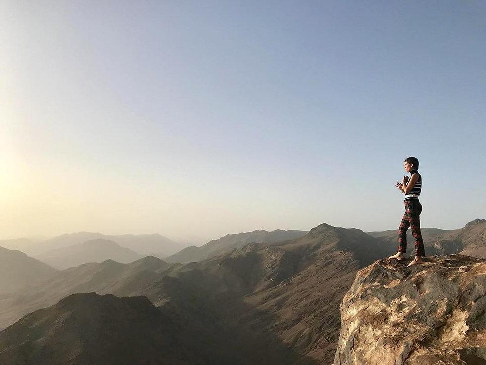 Hira Hosen Mount Sinai.jpg