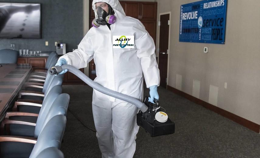 Virus disinfection sanitization