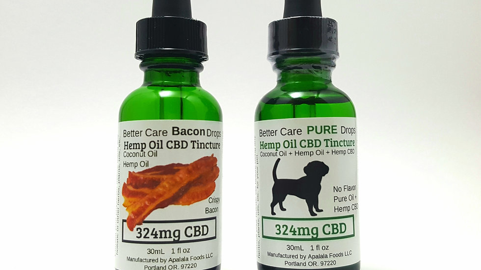 Better Care 324mg Oil for Small to Medium Dogs