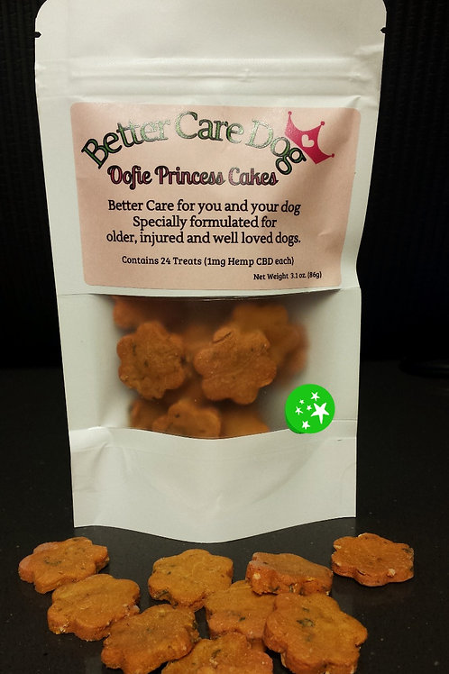 (24 pieces) Better Care Dog (Small Dogs) - Oofie Princess Cakes