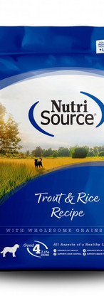 NutriSource All Life Stages Trout & Rice Recipe