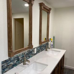 Vanity & Backsplash Installation