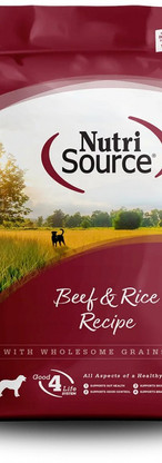 NutriSource All Life Stages Beef & Rice Recipe