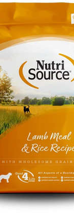 NutriSource All Life Stages Lamb Meal & Rice Recipe