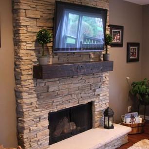 Rock/Stone Fireplace