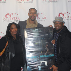 Actors Urssula Waters, Isaiah Branch and Director/Editor Antonio Jefferson