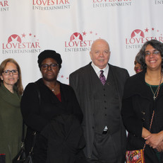 Actor Bob Roberts, wife and supporters