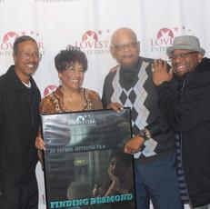 Actors Tyrone Chapman, Penny Demps, Archie Williams and Director/Editor Antonio Jefferson