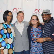 CEO Apral Smith, Actor Donald Imm and wife and Director Antonio Jefferson