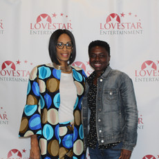 Love Star's CEO Apral Smith and Supporter Amber