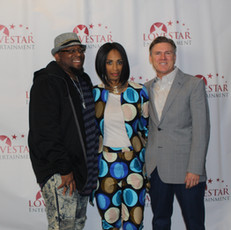 Love Star's Director/Editor Antonio Jefferson, CEO Apral Smith and Actor Donald Imm