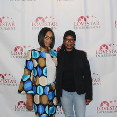 Love Star's CEO Apral Smith and supporter Kazuri