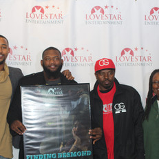 Actors Isaiah Branch, Joshua Taylor and Geo McGill along with Author Odessa Rose