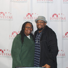 Author Odessa Rose and Director Antonio Jefferson