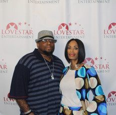 Love Star Entertainement's Director & Editor, Antonio Jefferson and  CEO, Apral Smith