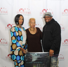 Love Star's CEO Apral Smith, her mother and Director/Editor Antonio Jefferson