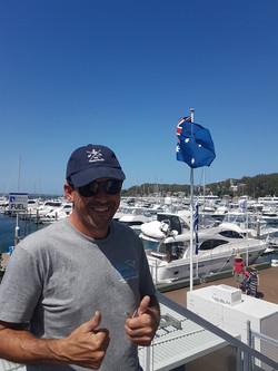 Landed at Port Stephens