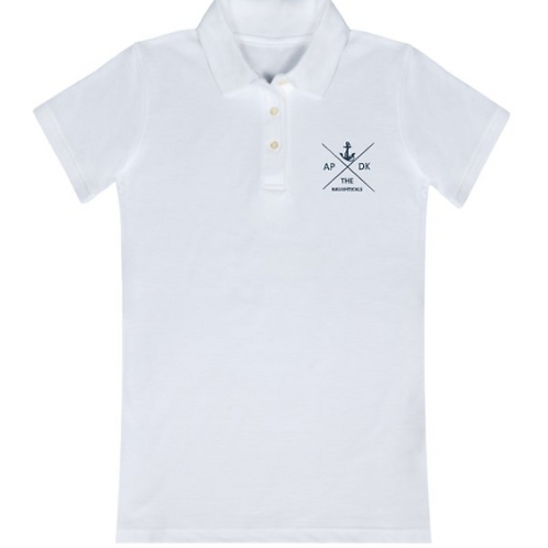 TheNaughticals Womens White Polo