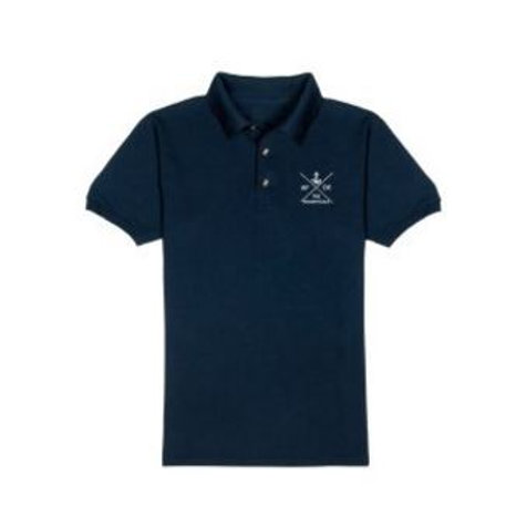 TheNaughticals Mens Navy Polo