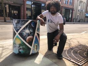 Q&A with Artist Stephon Freeman