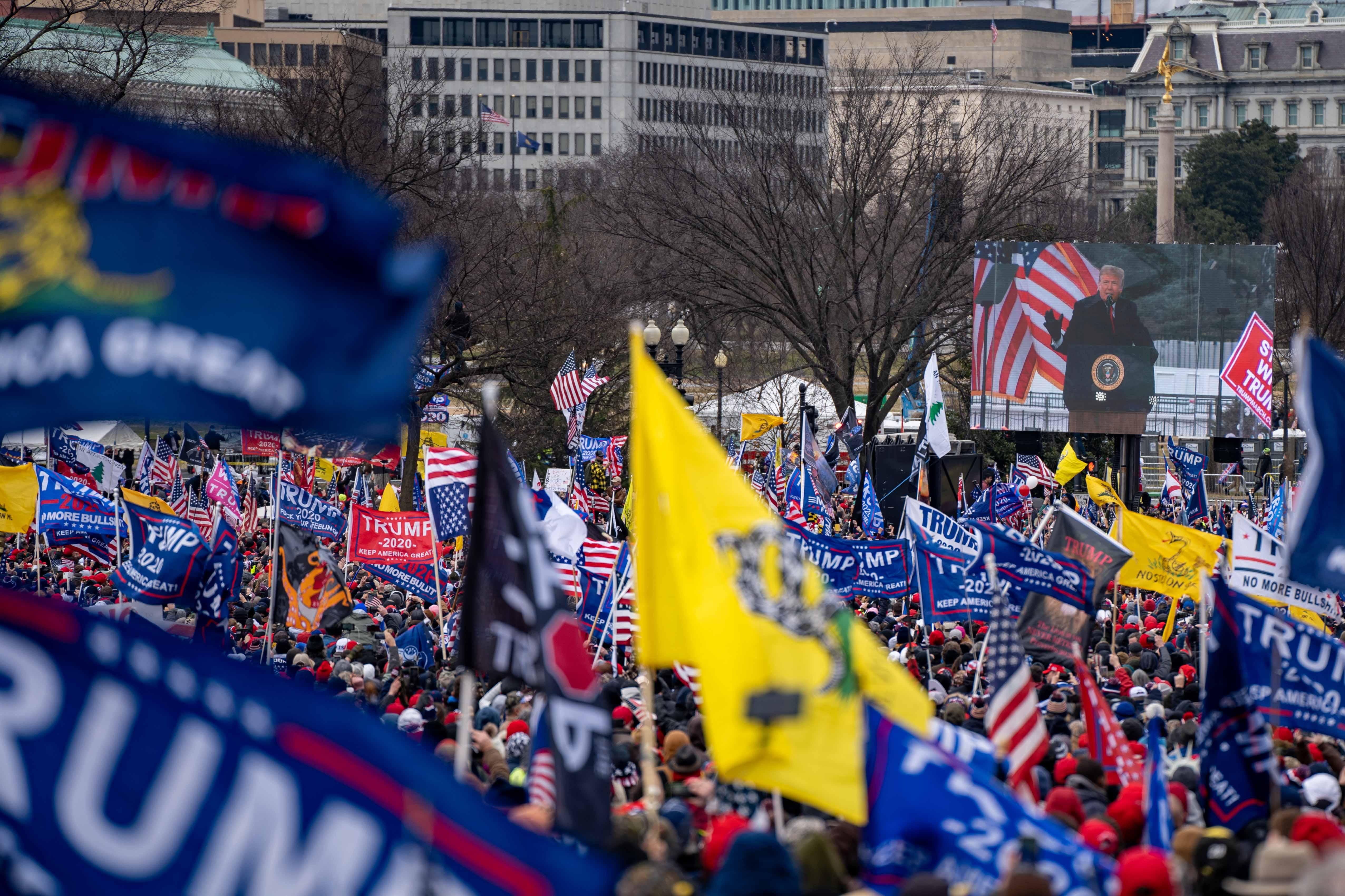 WASHINGTON DC –– January 6, 2021