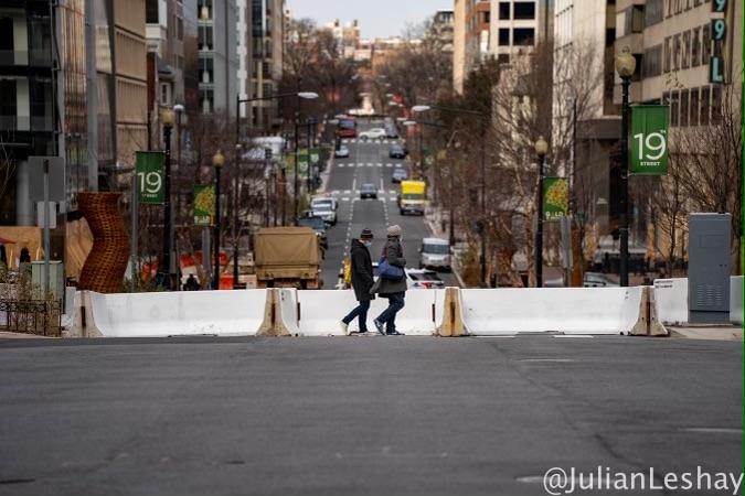 WASHINGTON DC - Jan. 16, 2021