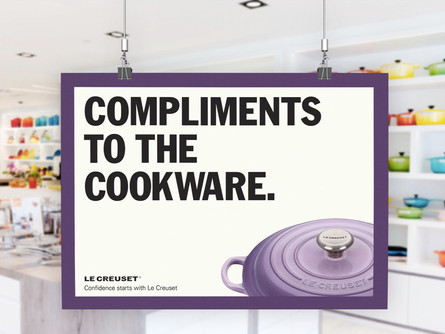 Confidence Starts with Le Creuset