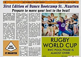 St. Maarten Dance Bootcamp