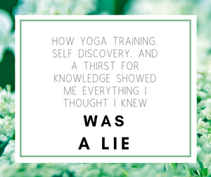 yoga training, and many resources- helped me put the peices of the puzzle together
