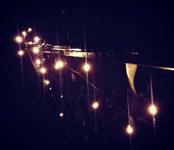 Rainy Porch Lights
