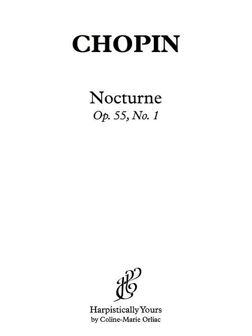 Nocturne Op. 55 No. 1