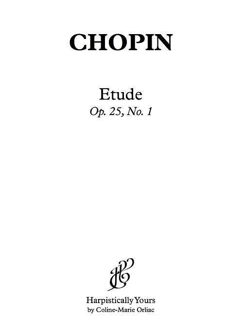 Etude Op. 25 No. 1
