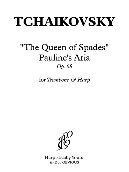 """The Queen of Spades"" Pauline's Aria"