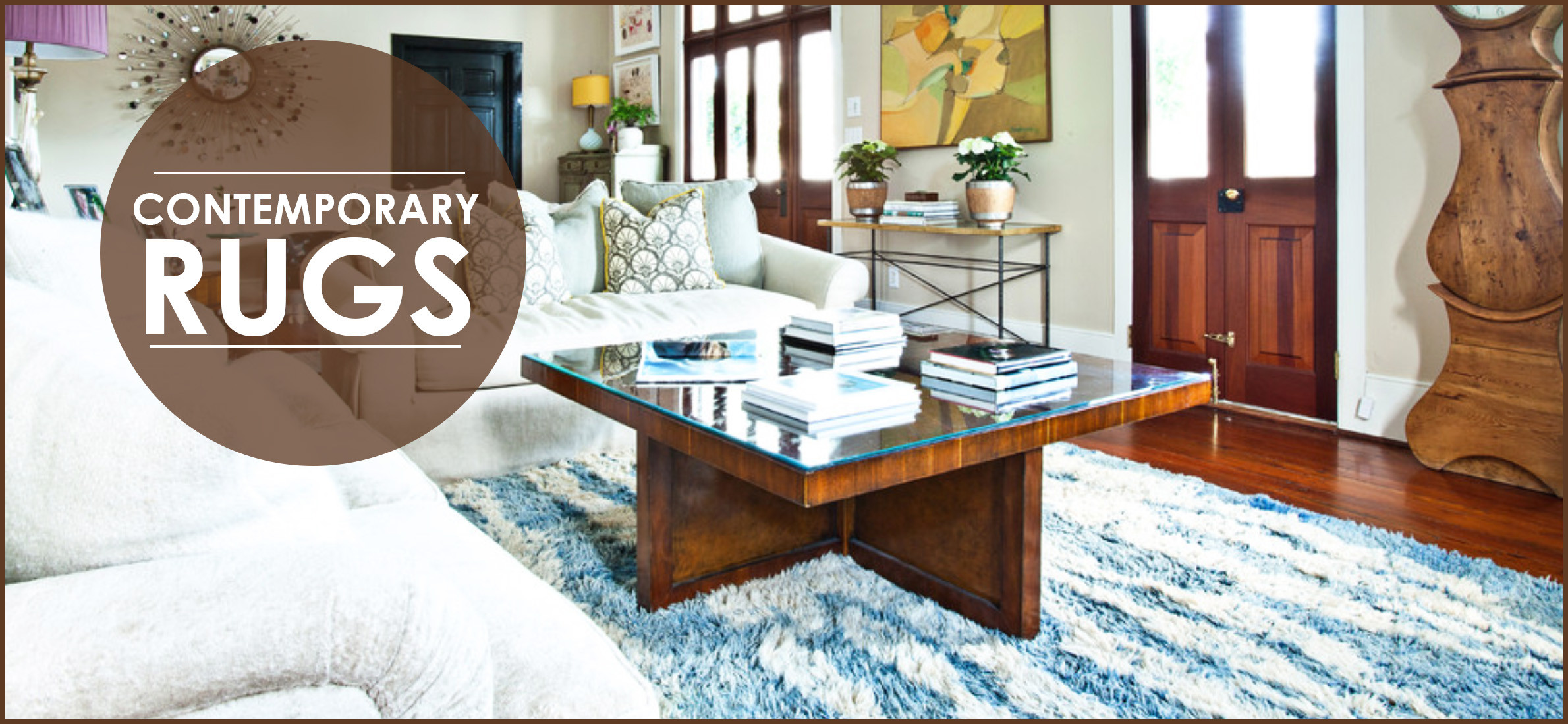 Contemporary Rugs Choosing The Perfect One For Home Decor