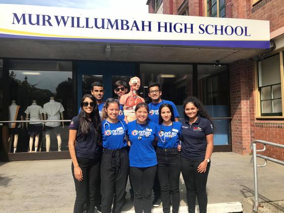 Murwillumbah High School Visit