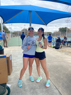women's open doubles champions