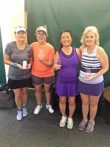 Women 3.0 Doubles Champions & Finalists