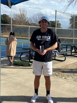 men's open consolation winner