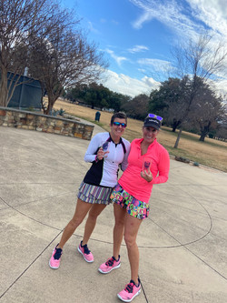 women's 3.5 doubles finalists