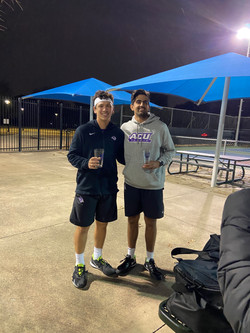 men's open doubles champions