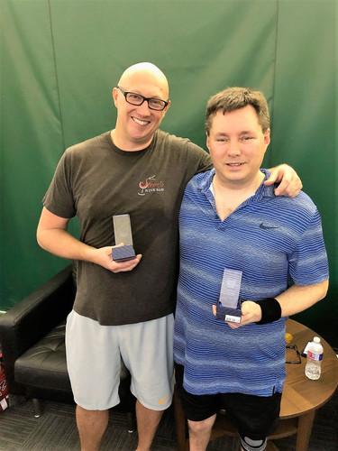 Men's 3.0 Champion and Finalist