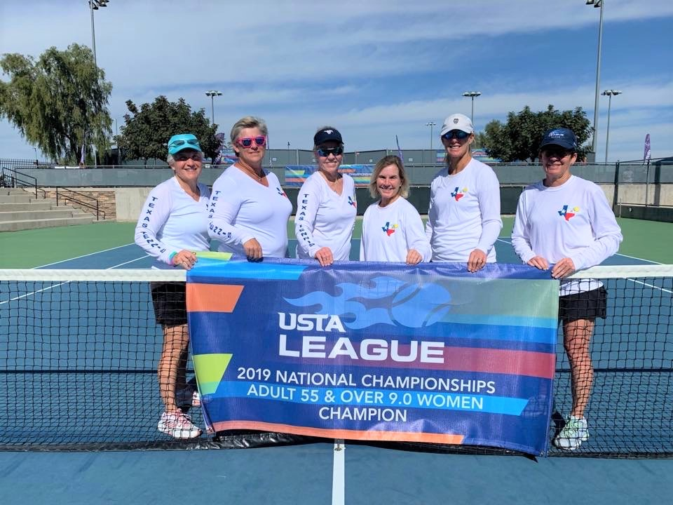 55+ 9.0 Women National Champions