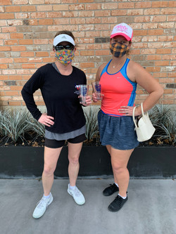 women's 4.0 doubles champions