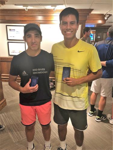 Men's Open Doubles Finalists