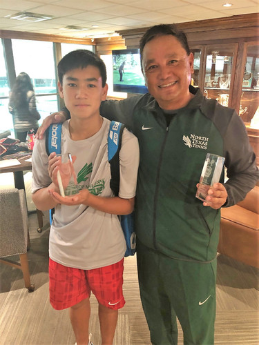 Father - Son Doubles Champions